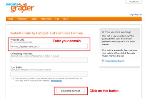 Website-grader-start